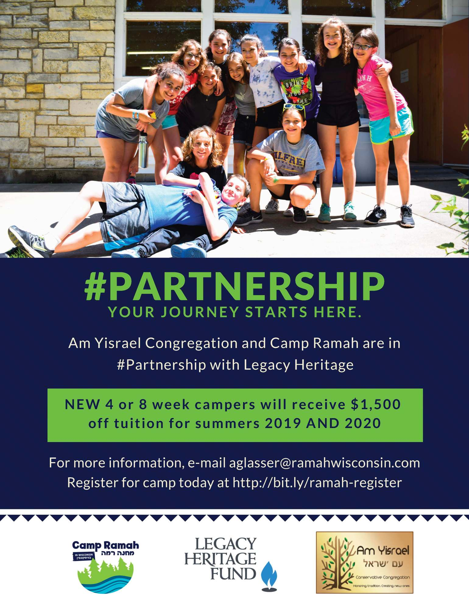 AY and Ramah #Partnership Flyer